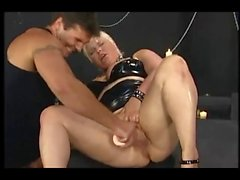 Fisting Her German Big Wet Pussy