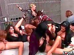 Jailhouse sex party