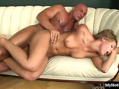 Nikky Thorne is a gorgeous, playful, big titted, blonde hair