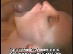 Wife creampied - swinger woman
