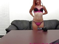 Incredible Redhead Amateur Painal and Creampie