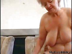 Sexy Mom N88 Blonde Bbw Mature With A Man BBW