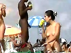 Nudists At The Beach Want Some Of That BBC