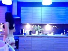 Веб-камера для дилдо брюнетка Big Boobs