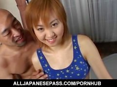 Erotic massage with Mai Mori