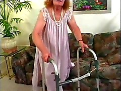 Grumpy Old Granny Get Fucked 3 Times