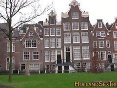 Dutch whore cumsplattered