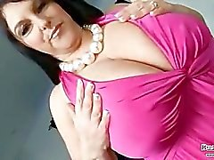 Carol Brown Melons Play & Dildo Fuck