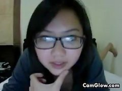 Sweet Asian Cam Girl Gets Naked