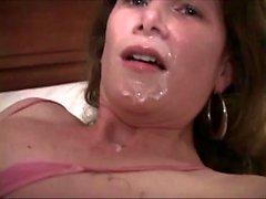 Big boobs pornstar facial abuse