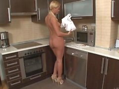 Spritzen in der Küche