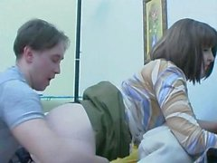 Mature russian furry creampie