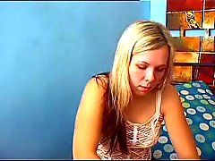 Hot Blonde webcam tyttö