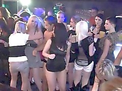 Kinky bimbos get fucked at a party