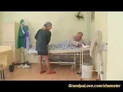 grandpa in love with hot nurse