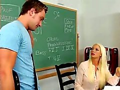 Sexy MILF Teacher Fucked by Young Stud