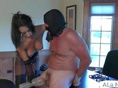 ALA Nylons Mistress Knulla Strapon Slave - SUPER XXX