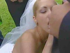 Heißer Bride Trashed