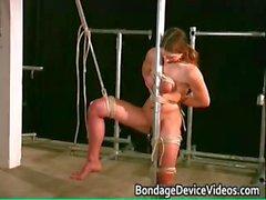 Kinky brunette babe finds pleasure part5