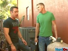 Plumber gets paid with great blowjob part2