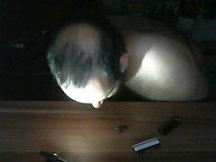vibrating shaver fun and orgasm