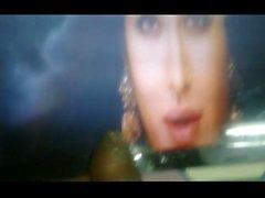 Katrina Navel queen cum tribute