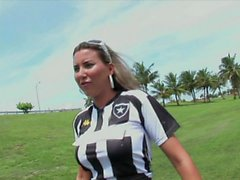 Slutty Footbal Girl In Hot POV Action