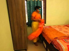 New Indian Bhabhi pronto per ottenere scopare in camera da letto