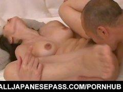 Junko Izawa gets doggy and cum