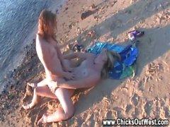 Amateur outdoor lesbians kissing