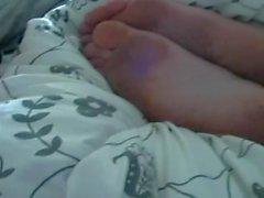 Rita's dirty sleeping feet
