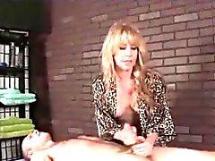 Milf leopard masseuse
