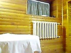 pregnant hooker in sauna