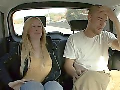 Blonde Babe Picked Up for Car Sex