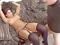Sıcak Meksika Pussy Fucked & Ass Creampied