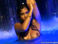 Indian Princess In Water