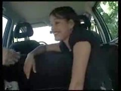 Gigis - French Teen doing it in Car and Forest