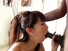 Asian whore facialized