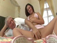 Old Man Fucks Hot Teen - HD