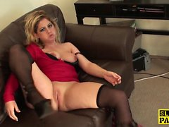 British sub slut Leah assfucked