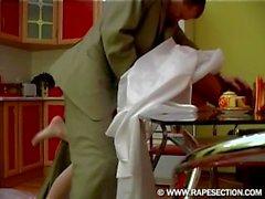 Donatella - Heiße betrunkene russische Redhead-Braut, die hart gefickt wird