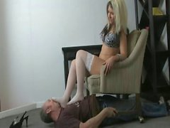 Kinky blonde loves submission sex