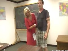 Teacher Jerking Off In Classroom