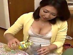 Japanese Mom Ryoko enjoys son's friend 1 (MrBonham)