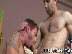 Steven Richards and Tristan Mathews: Wild Daddies Analyzing