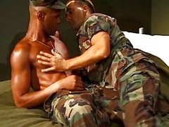 Militar men Crazy for Sex