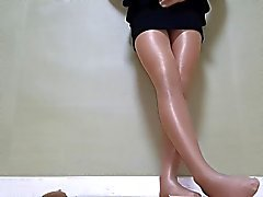 shiny pantyhose cd