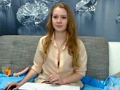 Schwangere Rothaarige Webcam Masturbation