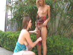 Leslie & Danielle ftv lesbian squirt ourdoor