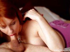 Esotiche Erotic Numero di fellazione di Redhead